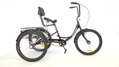 Carry All Comfort Trike True Bicycles, Carry All Comfort, Trike,, Heavy Duty, Recreational, Tricycle