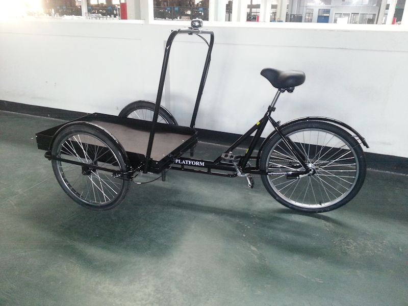 Platform Cargo Trike True Bicycles, Platform Cargo Trike, Tricycle, Worksman, STPT