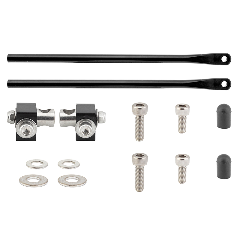 Basket Not Included Wald Bicycle Parts Mounting Kit for #257RKX Bike Basket