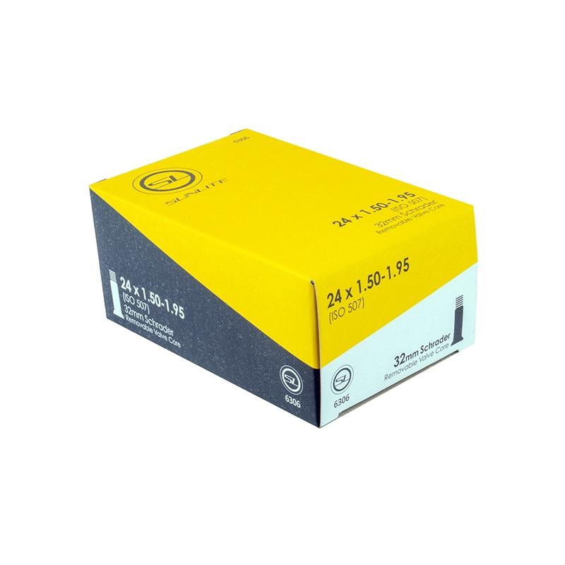 Sunlite Utili-T Tube 24X2.00-2.40 Schrader Valve 35mm